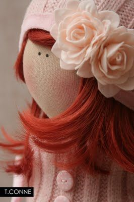Tilda- Ginger doll. Too sweet!
