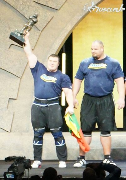 Vytautas Lalas - Wins Strongman Competition | MuscleUP