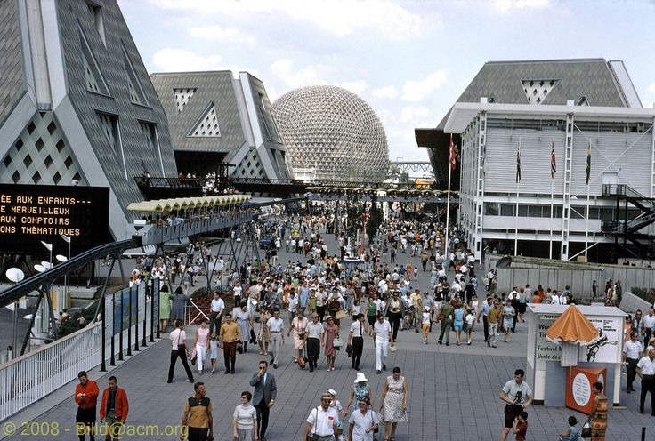 expo 67 - better than Disney Land at the time anyway. Great Trip when I was 13.