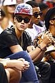 Justin Bieber Sits Courtside at Miami Heat Playoff Game | justin bieber sits courtside at miami heat playoff game 01 - Photo Gallery | Just Jared Jr.