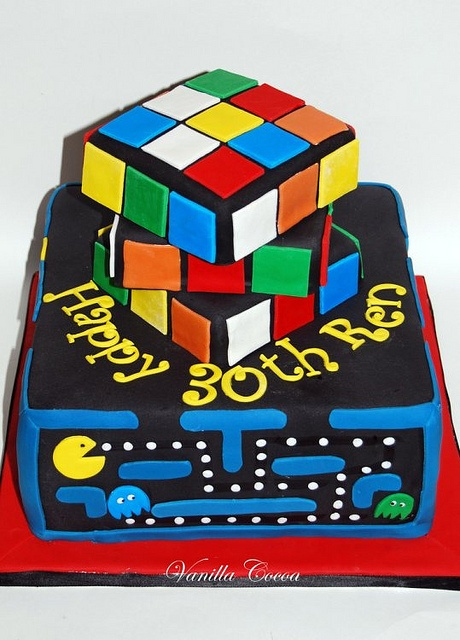 Child of the 80's Cake