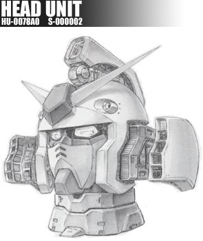 カトキハジメ Gundam Rx-78-2 Head unit