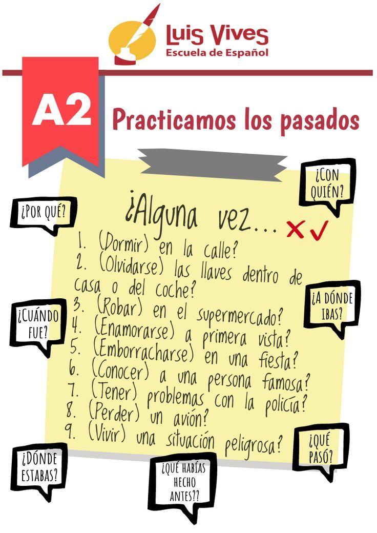 Spanish Luis Vives Aprende Español En Nuestra Academia De Español Para Extranjeros No Pie Ejercicios Para Aprender Español Aprender Español Enseñando Español