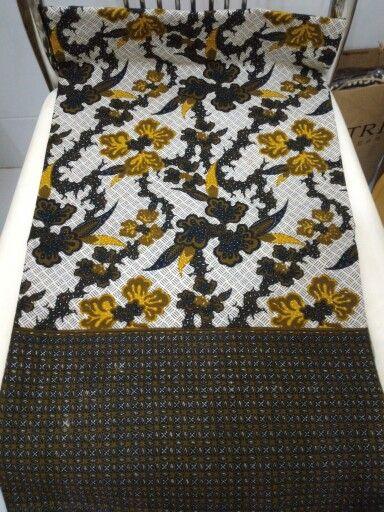 kain katun with print batik