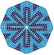 Resultado de imagen de patrones para mochilas wayuu de crochet