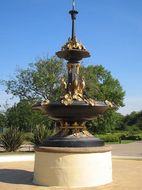 Middlesbrough, Fountain, Albert Park