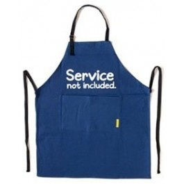Service Not Included Apron from Sarah J Home Decor. $26.95