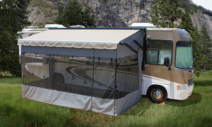 Shadepro Offers Top Of The Line Rv Screen Room Enclosures