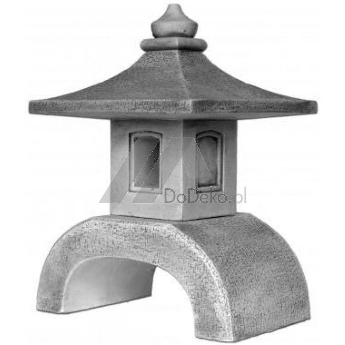 Betonové japonské zahradní lampy pagoda- krásná dekorace do zahrady obchodu…
