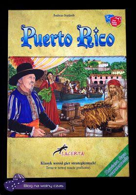 Blog na wolny czas: PUERTO RICO:zarządca wyspy pożądany - recenzja gry...