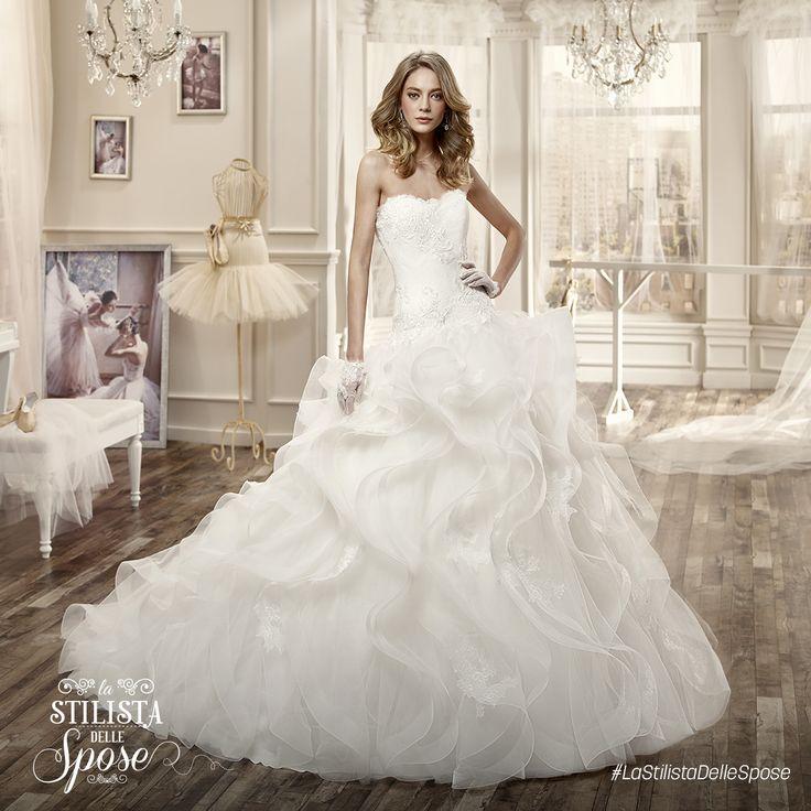 Episodio 2 - L'abito indossato da Jessica. Wedding Nicole tulle dress 2016 collection. http://www.nicolespose.it/it/abito-da-sposa-Nicole--NIAB16081-2016  #Nicole #collection #nicolespose #alessandrarinaudo #wedding #tulle #abitidasposa #bianco #white #weddingdress #sposa #bride #brides #bridal #LaStilistaDelleSpose #realtime