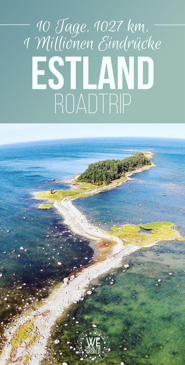 Estland Reise: Unser kompletter Estland Roadtrip inklusive Karte, Estland Unterkünfte und Restaurants #reisetipps #roadtrip #europa