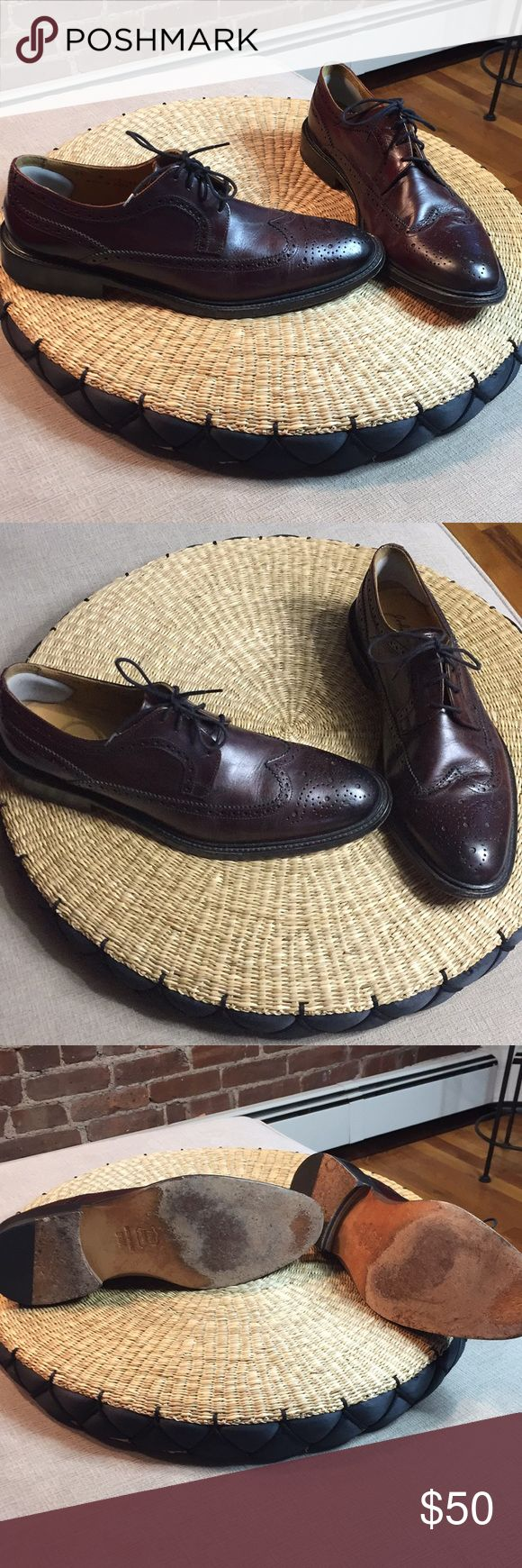 🖤SALE Brown Leather Shoes Beautiful brown shoes, made in Italy, gently worn, size 9.5. John W. Nordstrom Shoes Oxfords & Derbys