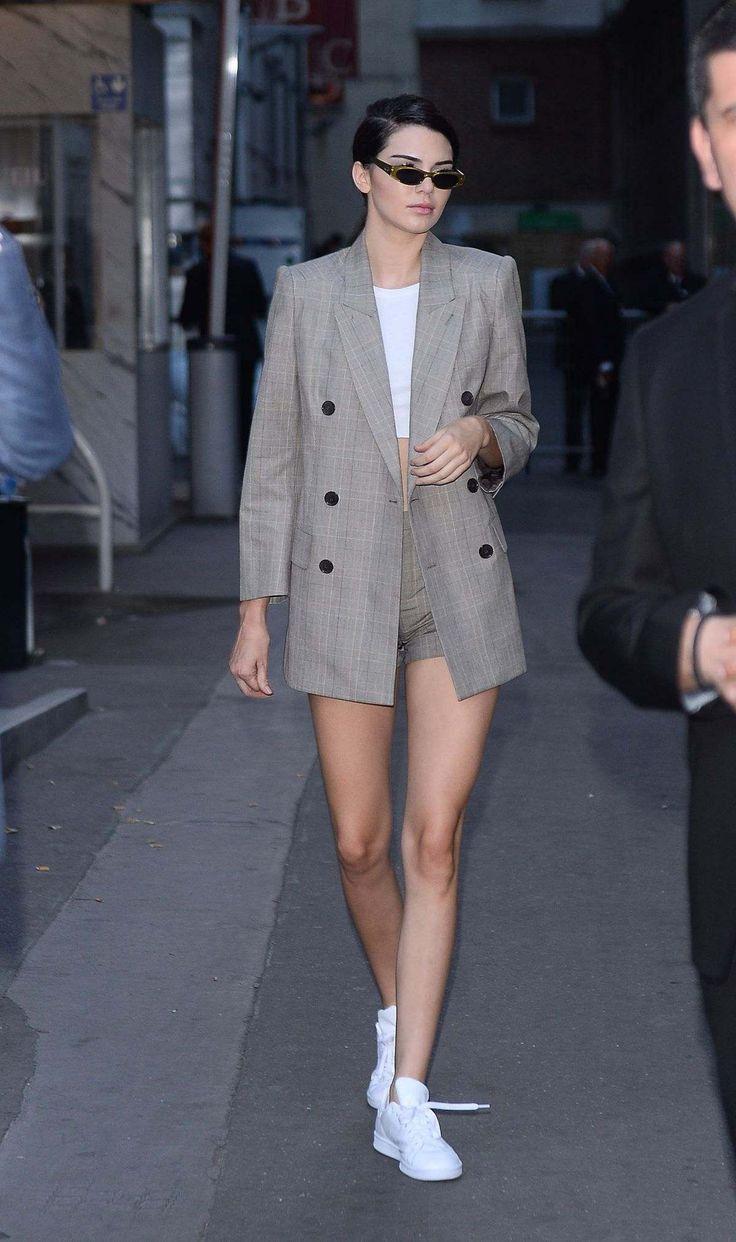 Kendall Jenner leaving Fendi Fashion Show In Paris