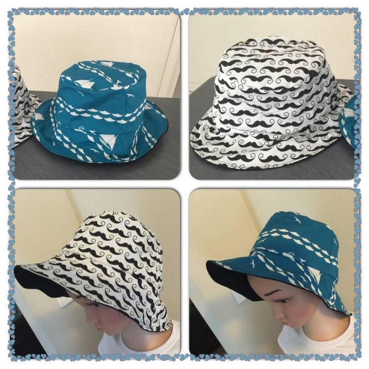 Handmade by Elodie Grace Designs Reversible Bucket Hat
