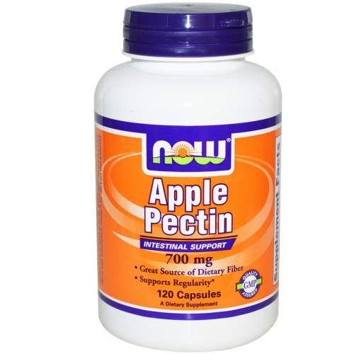 NOW Apple Pectin 700mg 120vcaps | Familypharmacy.gr