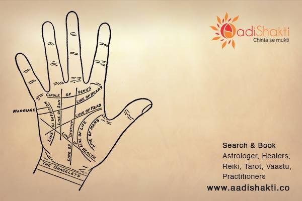 Palmistry predict up coming events in your life by studying the lines on your palm. http://www.aadishakti.co/services