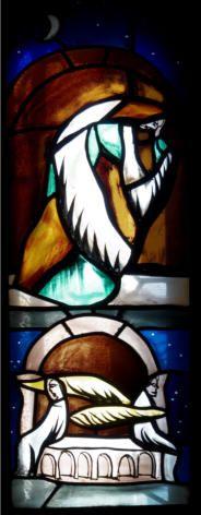 Marie de Magdala, Baie de Notre-Dame de la terre et du Ciel   Gérard Garouste / Atelier Parot  Eglise de Talant –Côte d'Or)