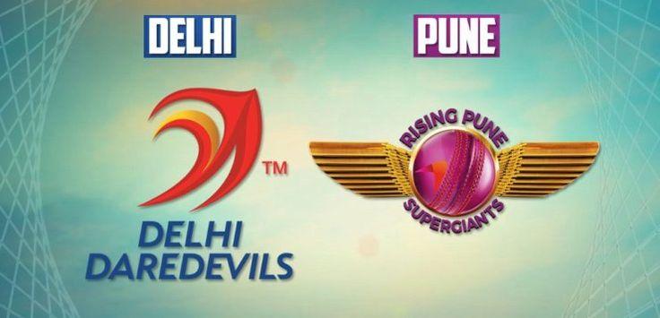 Rising Pune Supergiant v Delhi Daredevils Live Cricket Scores Today Match Prediction