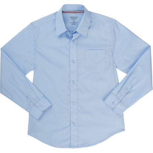 French Toast Toddler Boys' Long Sleeve Dress Shirt (Blue, Size 4 Toddler) - School Uniforms, Boy's Uniform Tops at Academy Sports