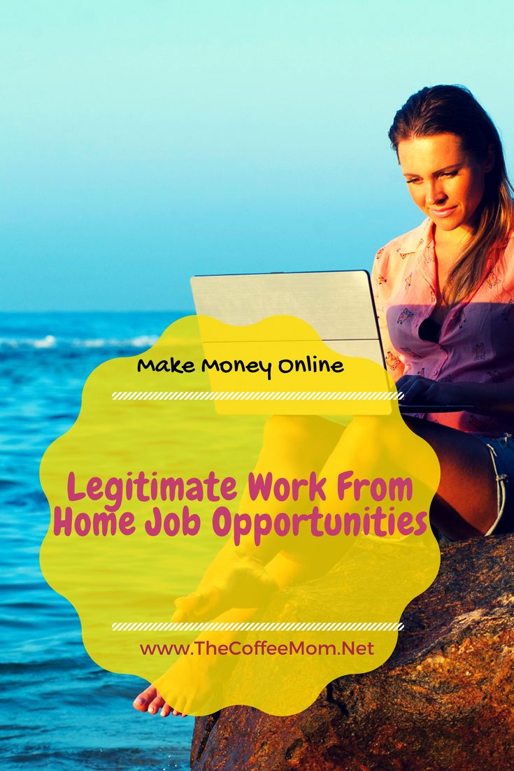Make money from home with these work from home jobs!