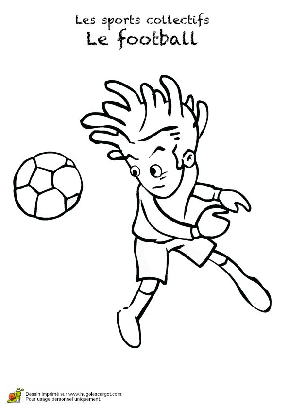 57 best images about coloriages foot on pinterest football coupe and trains - Coloriage ballon foot ...