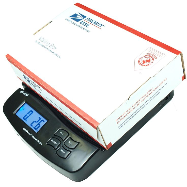 55 LB x 0.1 OZ Digital Postal Shipping Scale V2  Weight Postage Kitchen Counting #Business #Industrial #Material #Handling #SF-550