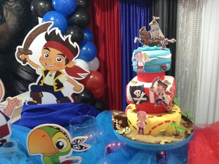 Torta Jake el pirata.