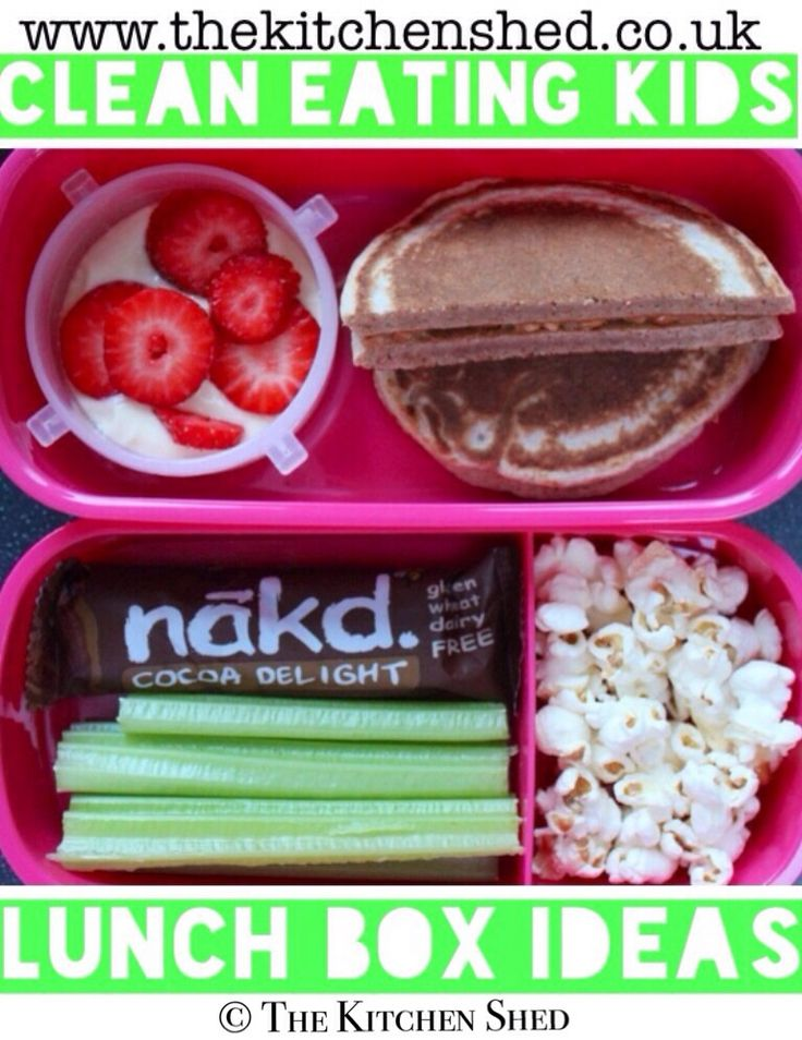 Clean Eating Kids Lunch Box Ideas
