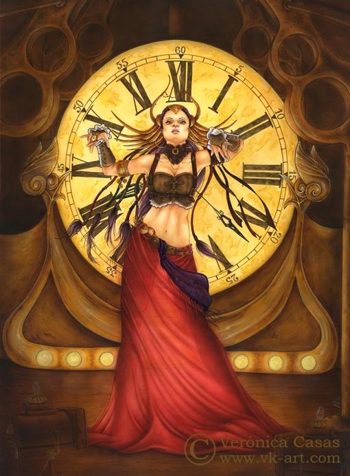 Time dancer -- By Verónica Casas  www.vk-art.com