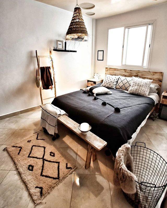 La camera da letto, una classica soluzione di arredo con una ...
