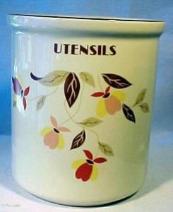 Autumn Leaf Utensil Holder. Please click the image for more information.