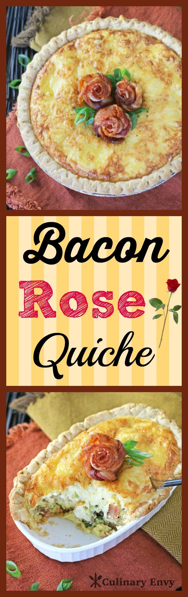 Best 25 bacon roses ideas on pinterest diy father 39 s day for The best quiche ever