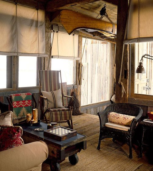 Rustic Lake House Decorating Ideas Rustic Lake House Decorating Ideas Design Ideas And Photos: Kitschy Antiques And An Upside Down Canoe Decorate This Tiny Lake Cabin....very Welcoming And So
