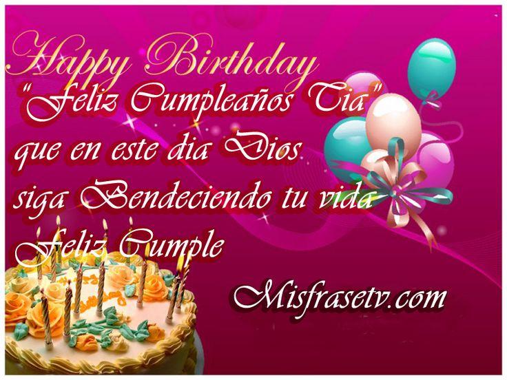 imagenes de feliz cumpleaños a una tia 12 jpg (800 u00d7600) Love it!!! Pinterest