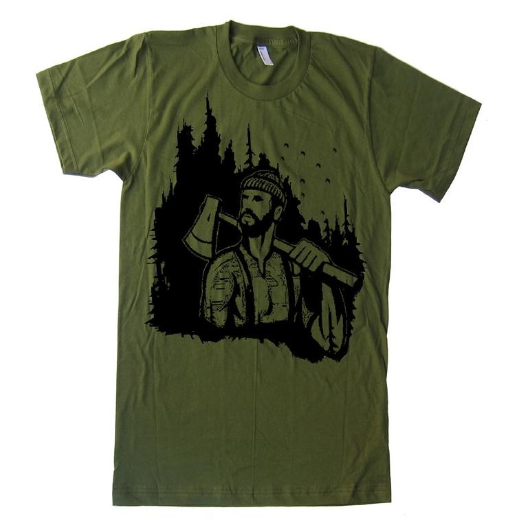 Lumberjack Men's tee shirt