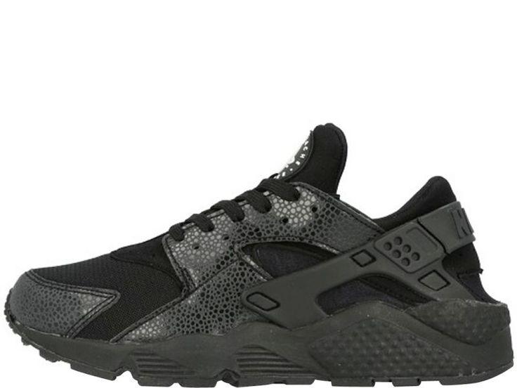 Nike Huarache Dames Zwart