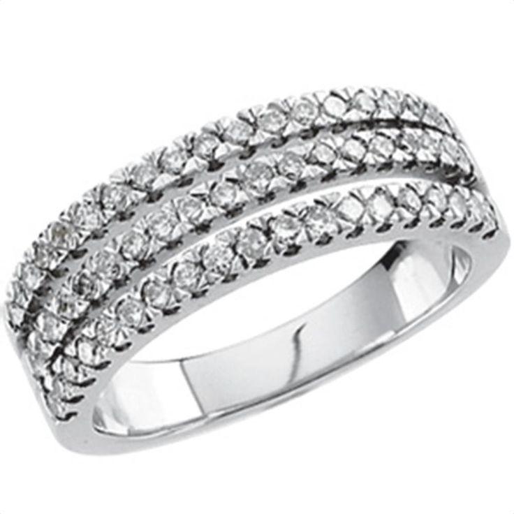 5/8 ct tw Diamond Anniversary Band | Matthew Erickson Jewelers