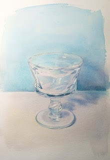 Paint Draw Paint, Learn to Draw: Watercolor Basics: How to paint a glass, transparent objects: Watercolor Lessons, Watercolors 水彩画, Watercolor Instructions, Art Watercolor, Watercolor Paintings, Watercolor Basic, Paintings Watercolor, Watercolor Tutorials