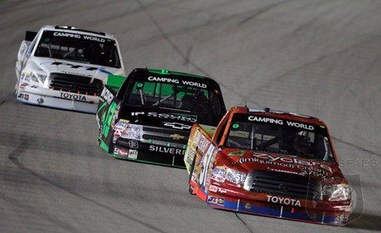 Toyota Building New NASCAR Truck Series Tundra Pickup