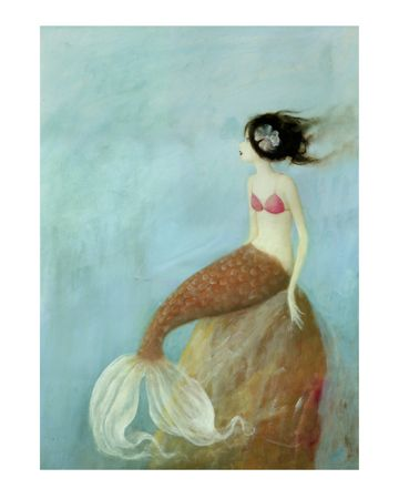 I like a mermaid who isn't blonde.: Mermaids Sirens Selkies Sea, Whimsical Mermaid, Mermaid Art, Mackey Mermaid, Merfolk, Golden Mermaid, Stephen Mackey, Mermaid Sirens Selkie Sea, Merry Mermaid