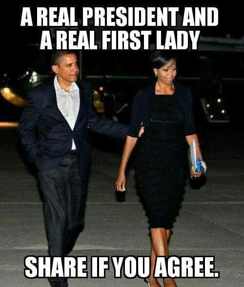 President, and First Lady-Barack, and Michelle Obama