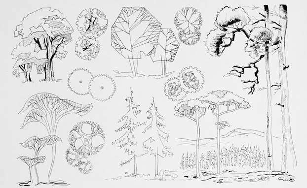 дерево архитектурная графика: 11 тыс изображений найдено в Яндекс.Картинках