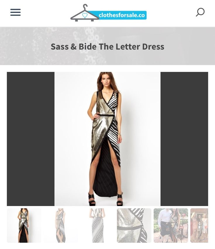 Sass and Bide The Letter Dress Size 8 Statement dress Perfect for - statement letter