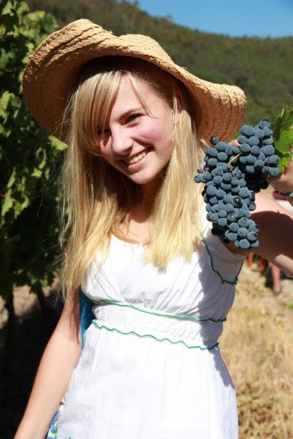 Sunny Places Happy faces : Harvest Festival in the Winelands of the Western Cape of South Africa
