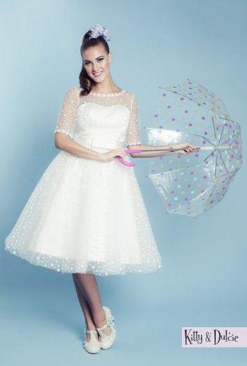 The 440 best Kitty & Dulcie bridalwear images on Pinterest | Short ...