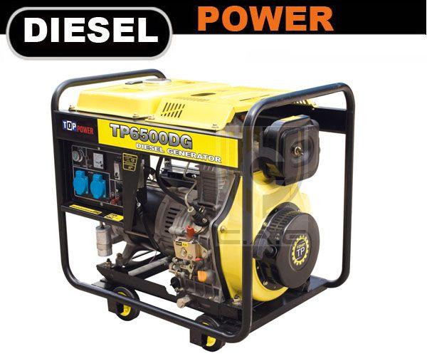 5kw Portable Diesel Generator - CAG Engines