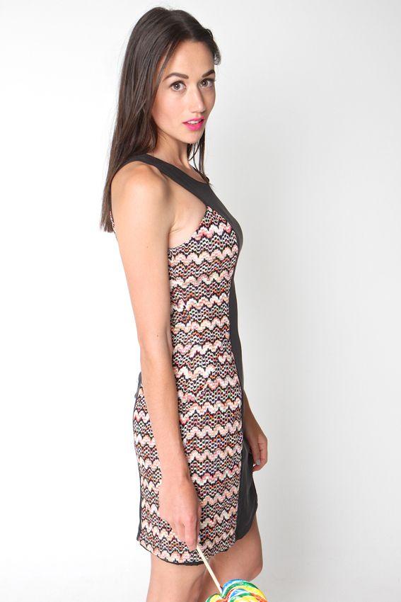 LOLLIPOP DRESS BLACK | Amber Whitecliffe