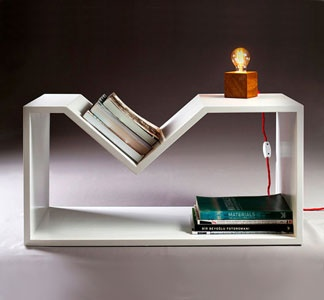 Rahleto Side Table by Nord Architecture >> What a unique and awesome piece!