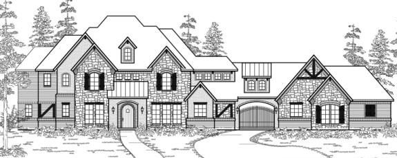 Front Elevation  Plan #4910 Texas House Plans